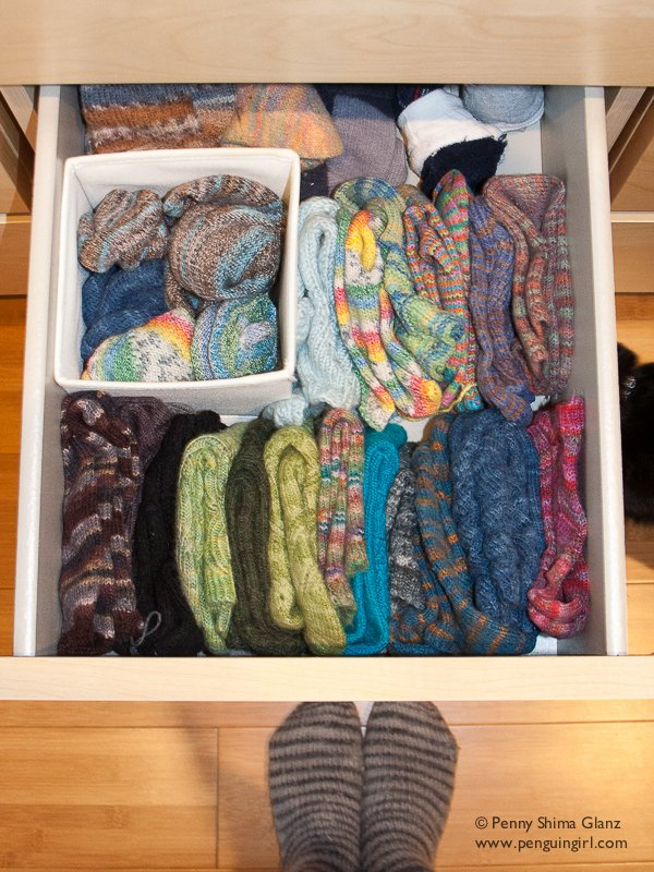 my sock drawer, annotated