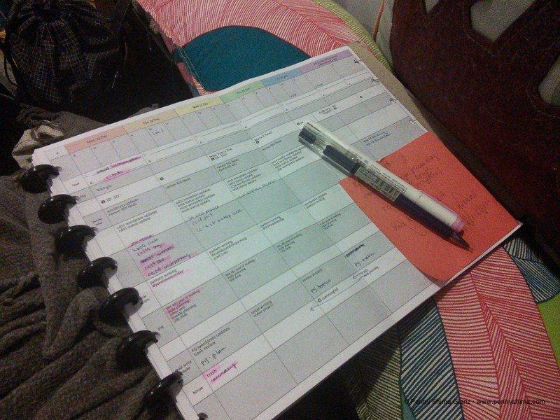 my 2015 planner system