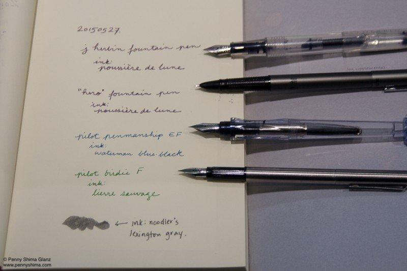 a new fountain pen