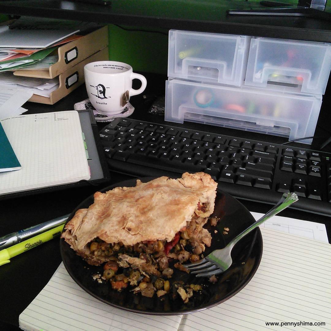 Root Vegetable Pie