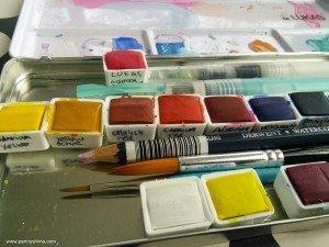 watercolours box