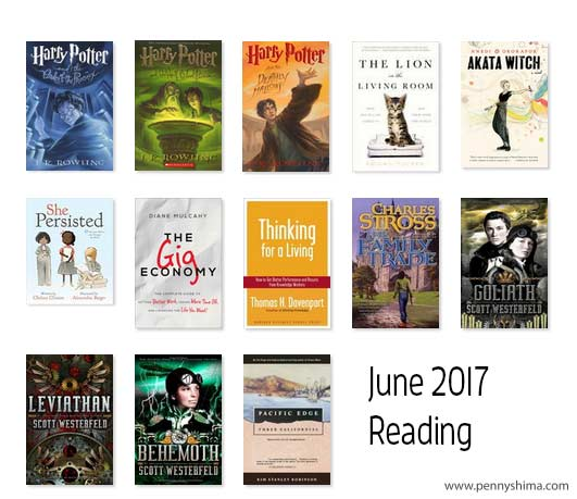 june's magical reading progress