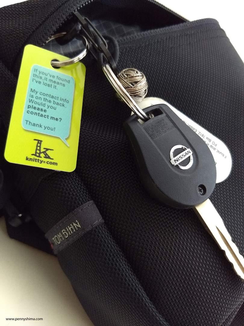 Tom Bihn Side Kick, keys!