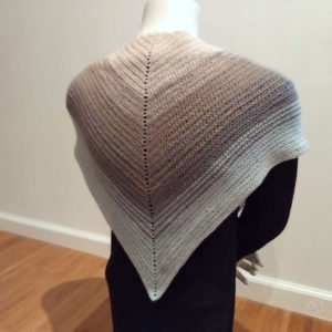 Art Yarns Crochet Triangle Scarf